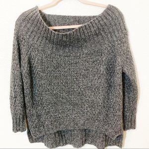 Juicy couture size m grey off the shoulder
